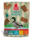 Plato Dog Treats – Natural Duck Flavor– Chewy And Delicious, Joint And Heart Healthy, Training Pet Treats, All-Natural, Non-Gmo, No Artificial Flavors, Or Preservatives, Made In The Usa, 16 Oz For Sale