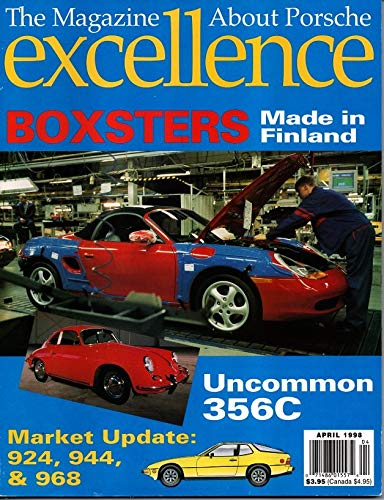 Excellence, The Magazine about Porsche, April 1998 (No 76) ()