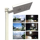 Solar Light Mart Solar Omega Street Light with LiFePO4 Lithium Battery Technology & PIR Motion Sensor & Dimmable Feature