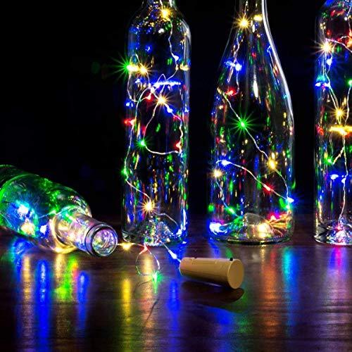 Grab Smart Bottle Cork led String Light for Wine Bottles Home Decoration – Multicolored Bottle LED Lights for Decoration…