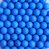 50 New .68CAL Reusable Rubber Training Balls Paintballs Blue Color Deal (Small Image)