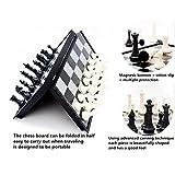 Chess Set, CHengQiSM Folding Magnetic Travel
