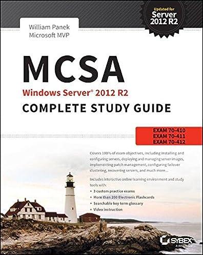 mcsa windows server 2012 r2 complete study guide exams 70 410 70 rh amazon com mcsa complete study guide mcsa complete study guide pdf download