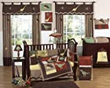 Sweet Jojo Designs Dinosaur Baby Boy Dino Bedding 9 pc Crib Set