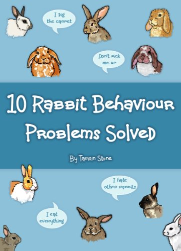 10 Rabbit Behaviour Problems Solved by [Stone, Tamsin]