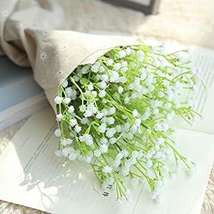 ️ Yu2d ❤️❤️ ️Artificial Gypsophila Floral Flower Fake Silk Wedding Party Bouquet Home Decor 81