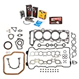 Evergreen Engine Rering Kit FSBRR3029EVE\0\0\0 Fits 94-99 Nissan 200SX Sentra Infiniti G20 SR20DE Full Gasket Set, Standard Size Main Rod Bearings, Standard Size Piston Rings