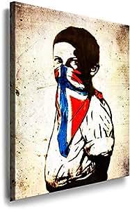 """Banksy, Graffiti, Street Art""""Boy gangster"""". Pop Art, Art Decor images."""