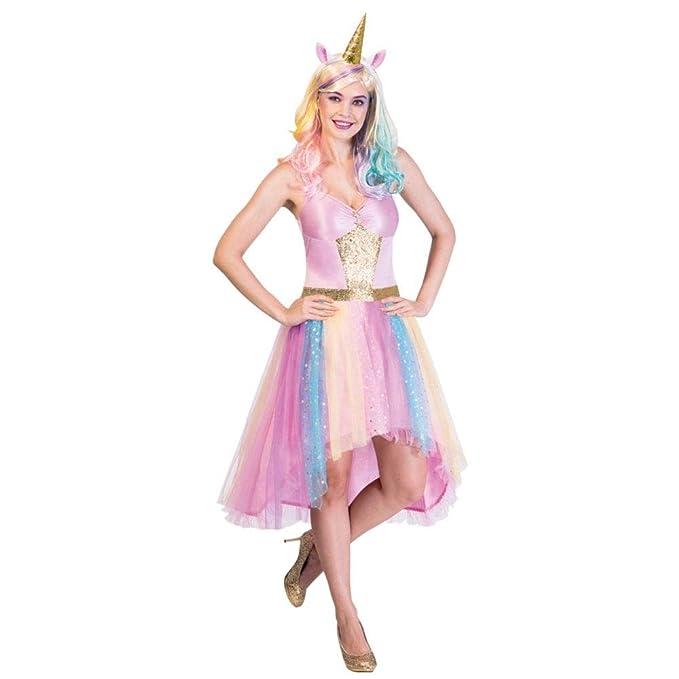 Amscan mystisches Unicornio - Unicornio Disfraz Mujer ...