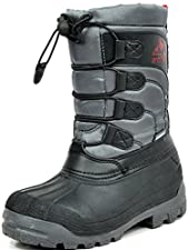 ARCTIV8 KNORTH New Casual Everyday Little Kid/Big Kid Fur Insole Lace/Zip Up Padded Ankle Hiking Outdoor Boots