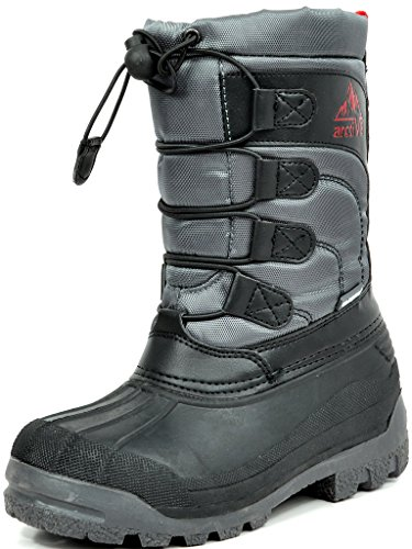 ARCTIV8-KNORTH-New-Casual-Everyday-Little-KidBig-Kid-Fur-Insole-LaceZip-Up-Padded-Ankle-Hiking-Outdoor-Boots