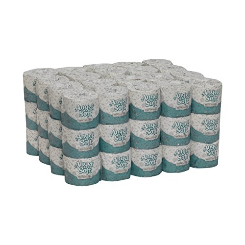 (Angel Soft Professional Series Premium 2-Ply Embossed Toilet Paper by GP PRO (Georgia-Pacific), 16850, 450 Sheets Per Roll, 60 Rolls Per Case)