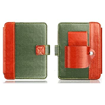 Mulbess Funda de cuero para el ebook reader Kobo mini 5