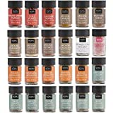 NOMU 24-Piece Starter Variety Set of Spices, Herbs, Chilis, Salts and Seasoning Blends Kit | 24.1 Oz | Non-irradiated, No MSG or Preservatives