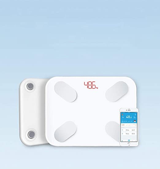 Amazon.com: White Picooc S1 pro Smart Scales Household Premium Support Bluetooth APP Fat Percentage Digital Body Fat Weighing Scale,White: Health & Personal ...
