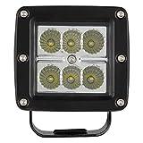"Pilot Automotive PL-9702 Square 3"" LED Work Light"