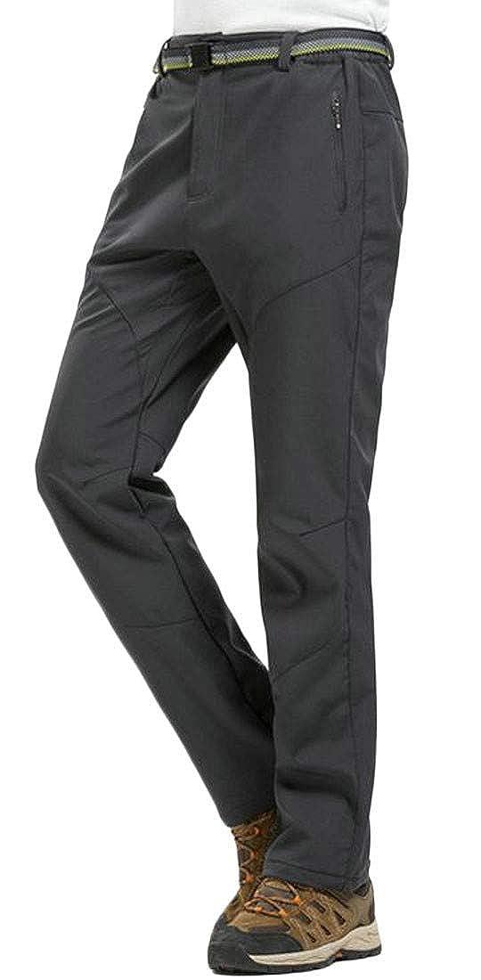 Joe Wenko Mens Windbreaker Mountain Winter Fleece Outdoor Watertight Ski Pants