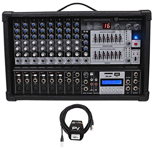 7 Channel Powered Mixer - 4
