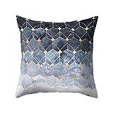 iYBUIA Special Design Geometric Design Cushion Square Throw Pillow Cover Case Pillowslip