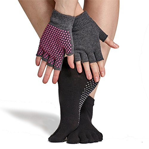 Buy yoga gloves and socks