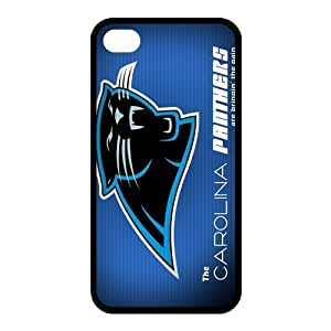 Custom Carolina Panthers NFL Back Cover Case for iphone 4,4S JN4S-1257