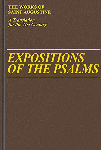Expositions of the Psalms 51-72 (Vol. III/17) (The Works of Saint Augustine: A Translation for the 21st Century) PDF