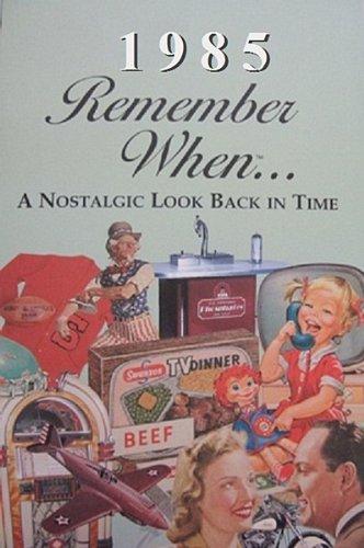 Seek Publishing 1985 Remember When KardLet (RW1985)
