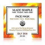 Matcha Tea Moringa Face Mask (Certified Organic)
