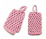 Pink Bath Soap Saver Sacs Pack of 3