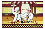 Chef Kitchen Rug Mat 18 x 28 Inches with Non Skid Back