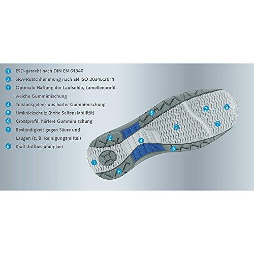 sécurité 46 de sandale Taille Static Control 1378 Abeba 46 Anthracite Chaussures xYXWzwAZpq