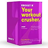 EBOOST POW Natural Pre-Workout Powder | Maximize Workouts & Recover Faster Smoother- Berry Melon Fizz Flavor (15 Packets per Box) Review