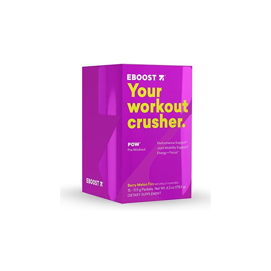 EBOOST Pow Pre Workout Super Enhancer Box
