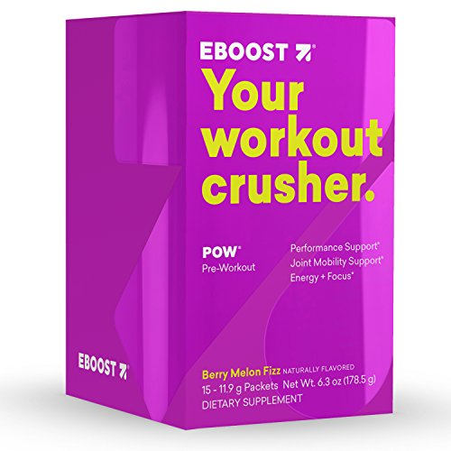 EBOOST Pow Pre Workout Super Enhancer Box