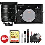 Leica M-P (Typ 240) Digital Rangefinder Camera (Black) + Leica 24mm f/1.4 Lens (11601) + Professional Accessory Combo