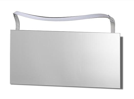 Mantra iluminazion led wandleuchte 12w 4000k sisley silver chrome