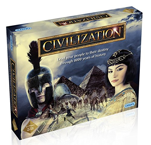 Gibsons Civilization Board Game -