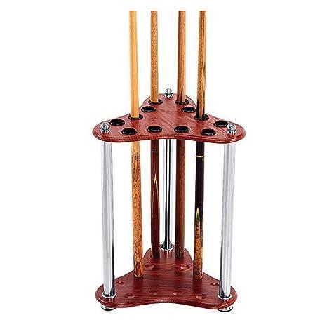 12 Pool Cue Rack - Deluxe Y Fácil De Instalar Billiard Cue Stick ...