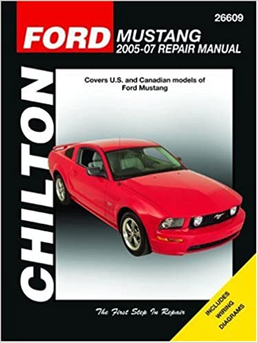 chilton ford mustang 2005 07 repair manual