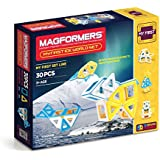 Magformers My First Ice World (30-pieces) Set Magnetic    Building      Blocks, Educational  Magnetic    Tiles Kit , Magnetic    Construction  STEM Toy Set
