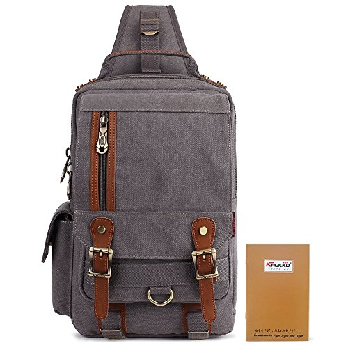 Travel Outdoor Computer Backpack Laptop bag small(grey) - 3