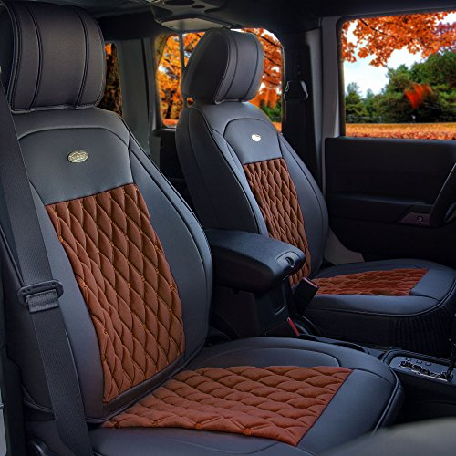 brown suv lincoln seat covers - 1