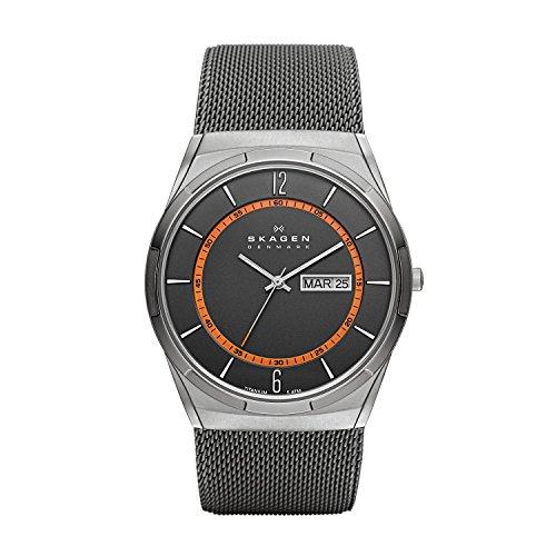(Skagen Active Grey Dial Grey Mesh Mens Watch SKW6007)