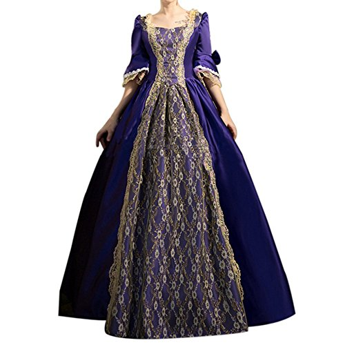 18th Century Themed Europea Gown Gothic Victorian Dresses