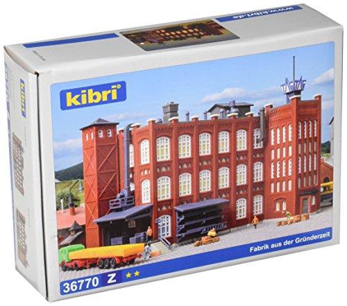 Kibri 36770 Factory Buildings Z Scale Model