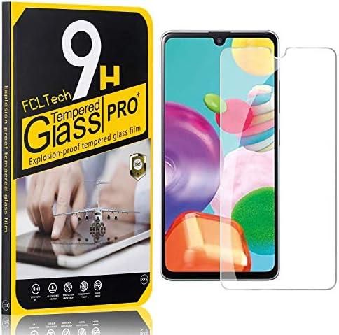 FCLTech 1 Stücke Schutzfolie für Galaxy A41, Ultra-HD Displayschutzfolie für Samsung Galaxy A41 Blasenfrei, Gegen...