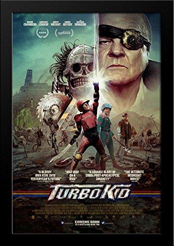 Turbo Kid 28x36 Large Black Wood Framed Movie Poster Art Print