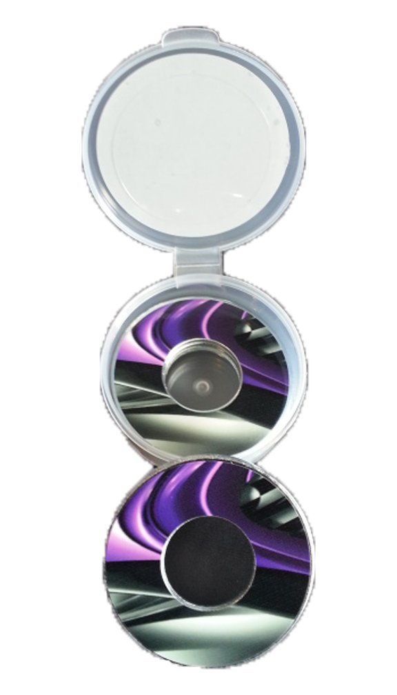 Purple Burnout Pitching Washers W/Case by Inkin It Up