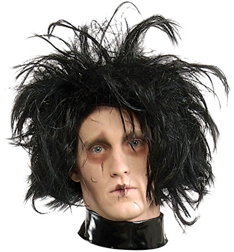 [Edward Scissorhands Wig Costume Accessory] (Edward Scissorhands Womens Halloween Costume)