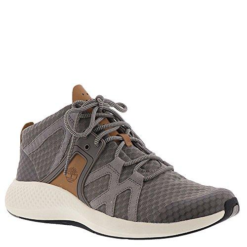 (Timberland Mens FlyRoam Go F/L Chukka Steeple Grey Sneaker - 11.5)